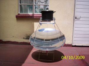cocina solar antena TV