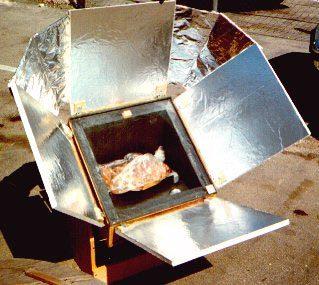 Conseguir mayor temperatura en tu horno solar cocina solar for Planos para construir una cocina solar