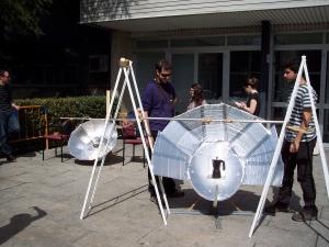 Cocinas solares en la UPM con ONGAWA