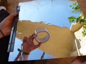 Reflejo adhesivo de doble cara