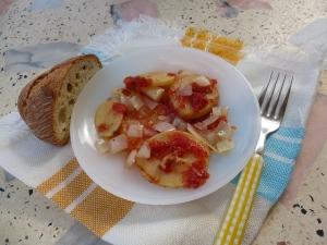 Patatas a la insolación
