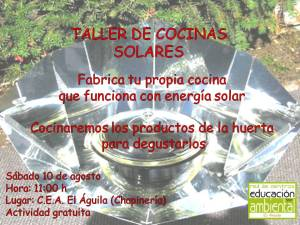Taller cocinas solares