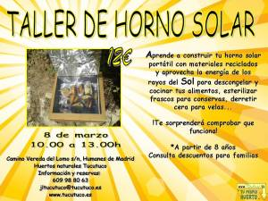 Taller hornos solares Tucutuco