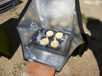 Bollitos de pan chinos rellenos