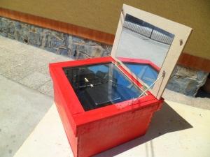 Horno solar casero
