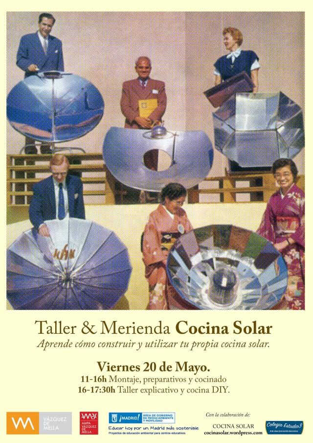 cartel cocina solar mayo